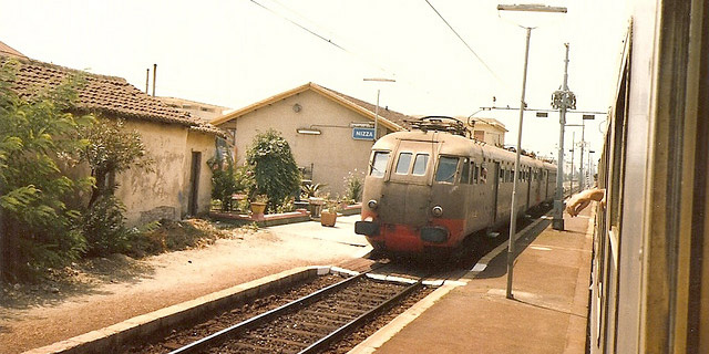 Stazione a Nizza di Sicilia by Johannes J. Smit, on Flickr